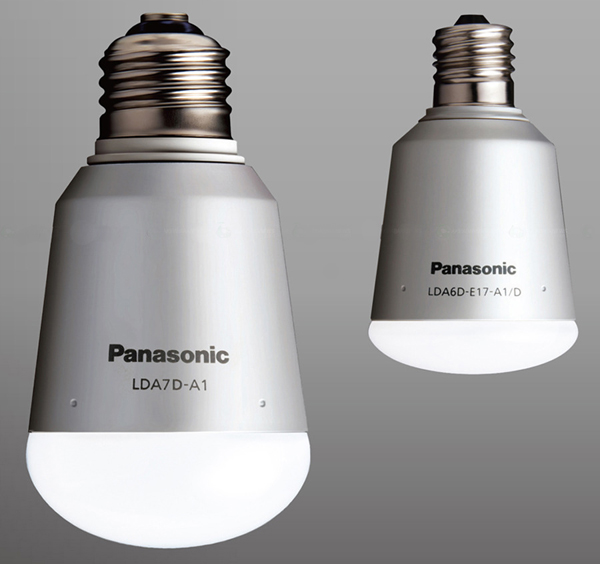 Luz de salon Panasonic con niveles de iluminación automático para ahorrar energia