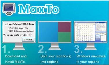 Cómo repartir el Monitor en regiones