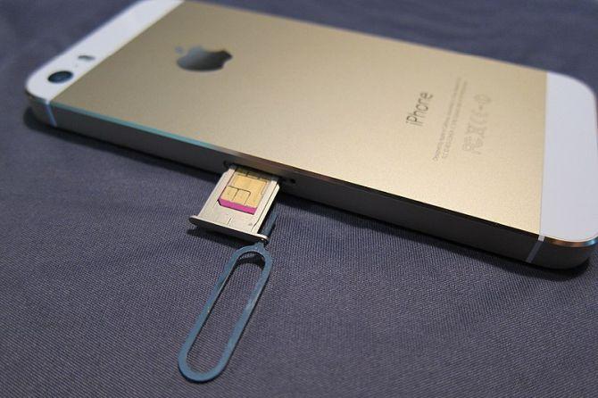 iPhone Expulsar SIM