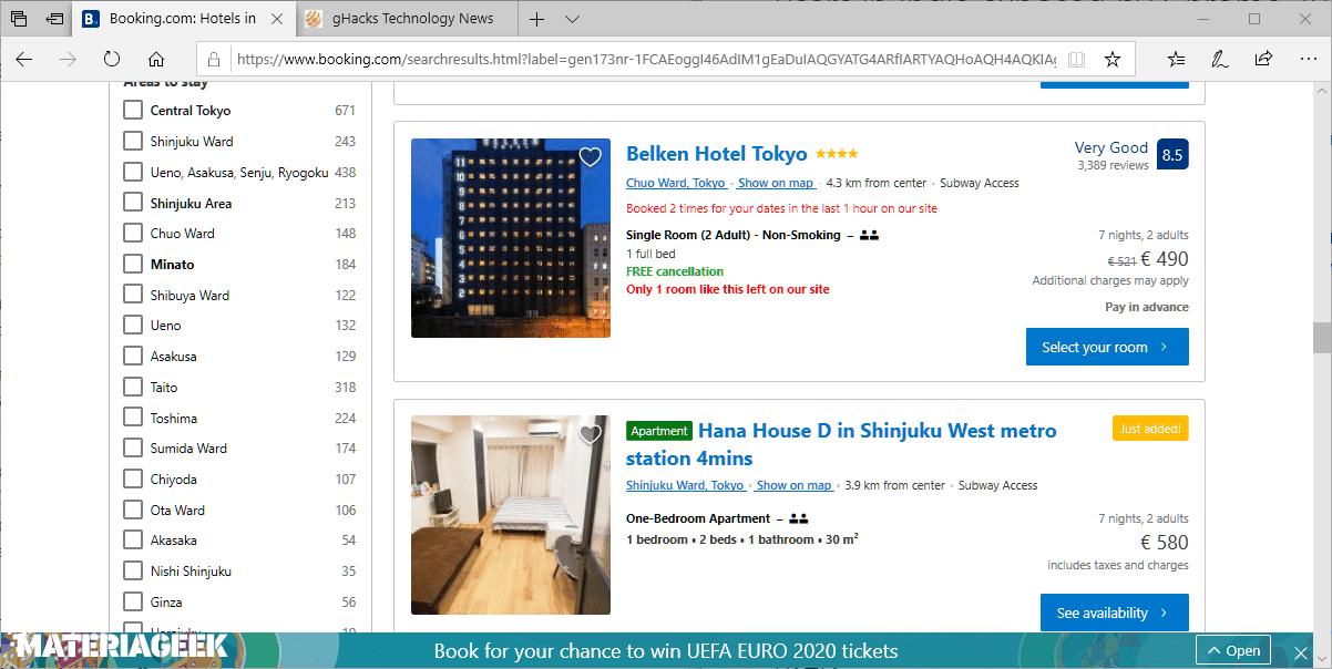 booking.com cambia la UE