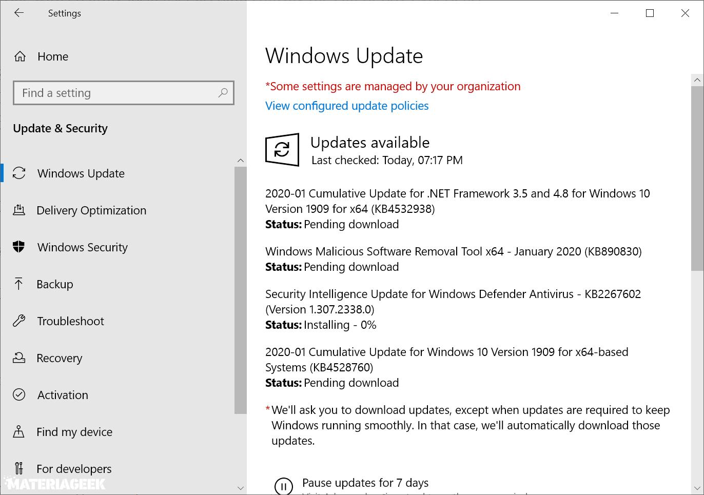 microsoft-windows-actualizaciones de seguridad enero 2020